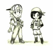 Harvest Moon RokuShi by MrsZeldaLink