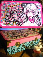 Painted Lady Box by marywinkler