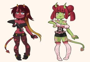 Flower Demon Adoptables [CLOSED] by faycoon