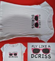 Fly Like A DCriss T-Shirt by ItsDaniDee