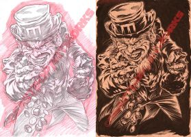 LEPRECHAUN pencils and inks by pop-monkey