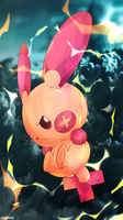 Day 357 - Plusle (Shiny) by AutobotTesla