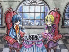 Ciel Meets Alois by chicharrria