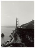 golden gate bridge by littlefaith