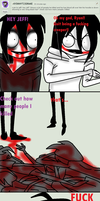 Ask Jeff The Killer-Question 48-3. by MikaelBratLoni