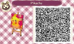 Animal crossing new leaf qr code pink pika! by alucardserasfangirl