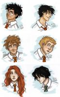 Marauders Era Portraits by RiTTa1310