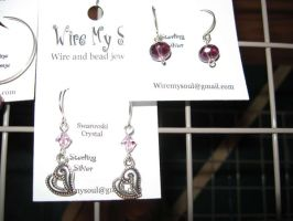 Earrings 6 and 7 by WireMySoul