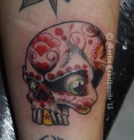 Wee NS Skull by mxw8