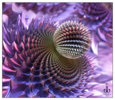 Thistle by bluefish3d