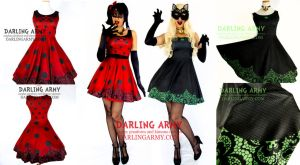 Miraculous Ladybug and Chat Noir Cosplay Dress by DarlingArmy