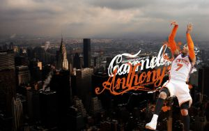 Carmelo Anthony Wallpaper by Angelmaker666