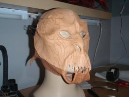 Orc Mask WIP4 by Red-Dragon-Lord
