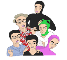 Filthy Frank by lupomortale