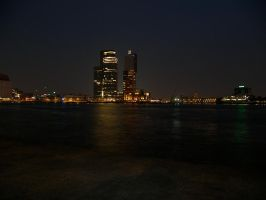 Rotterdam in the Dark by ciscotjuh