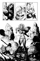 Red Sonja One More Day pg17 by LiamSharp