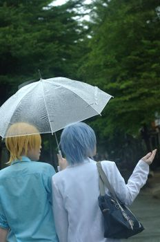 together under the rain ~ by shenbaki