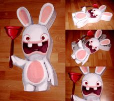 Raving rabbids Box by FrealaF