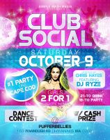 Club Social Flyer 3 by AnotherBcreation