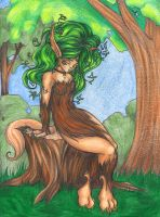 Willow's Meditation by Myotes