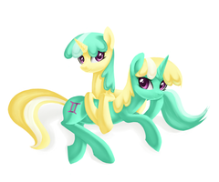 The Twins by Aurarrius