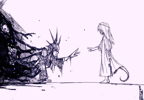 Dark Souls- A Moment, Demise.. by Dane-of-Celestia