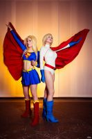 Superheroines by Rinaca-Cosplay