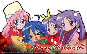 Lucky Star Christmas Banner by roninator001