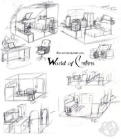 WoC house concept sketches by kiki-kit