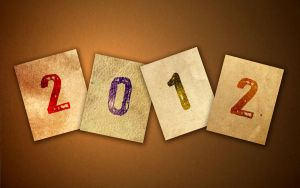 Happy New Year 2012 Wallpaper by whiteroselady