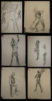 Gesture Drawing Dump-Fall 2009 by Raire