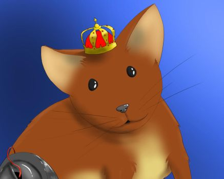 King Hamster George by Dragongirl1997