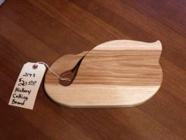 Hickory Cutting Board Duck by Lupas-Deva