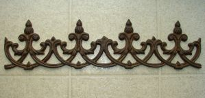 Rusted Bronze Wall Fleur by FantasyStock