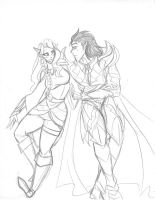 And Elf and a Lord by kixx27