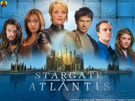 Stargate Atlantis Wall by Euderion