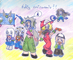 CosPlay Cave Story xD by ParcZXpi
