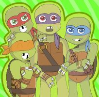 Turtle Power by TohruOnigriHonda865