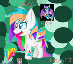 StarBlaze For lyrakittys contest! by PonyPainterMaddie
