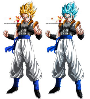 gogeta xenoverse ssj and ssjg by warren-morelos