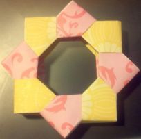 Origami-Picture Frame by Zignide