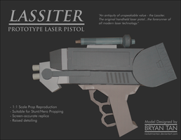 Firefly - Lassiter Antique Laser Pistol by RocketmanTan