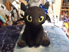 my build a bear toothless by legendarydragonstar