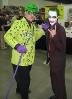 Fanfare 11 Joker and Riddler by BreezwayMan