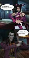 Injustice: Juri vs Joker by TheDeadstroke