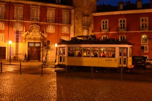 Lisbon yellow tram by PatriciaSusana