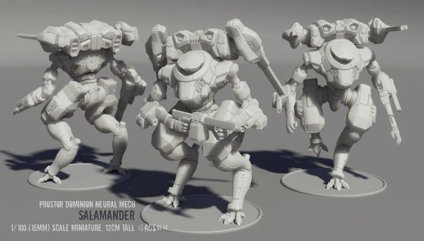 Protectorate Wars - Neural Mini by Shimmering-Sword