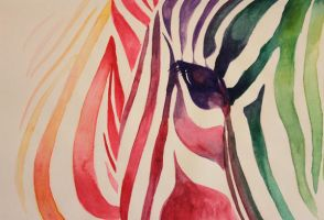 Zebra by skye67fly