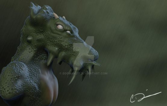 Dragon Finished by eggman231