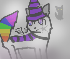 Aura the Derp-Witch .: Universal-Fursonas Entry :. by Fangirl-Trash